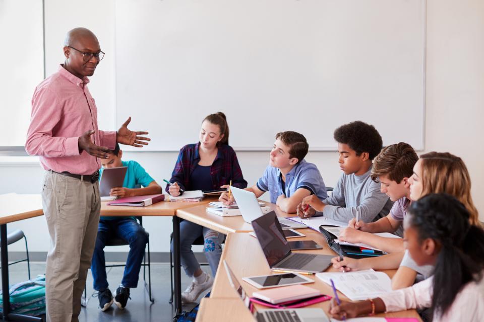 How We Help K-12 Teachers